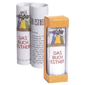Kleine Esther-Rolle - für Purim
