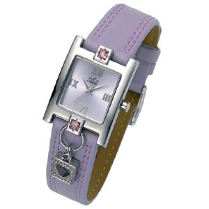 Armbanduhr in hellviolett, Modell