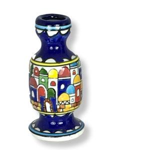 Kerzenständer aus armenischer Keramik