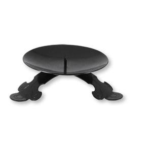 kerzenhalter in schwarz doronia einkaufen wie in israel. Black Bedroom Furniture Sets. Home Design Ideas