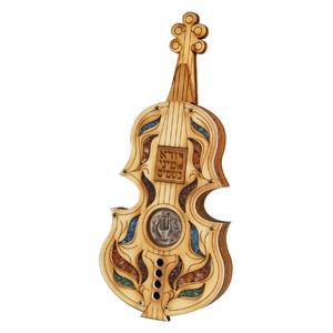 Violine als Besomimbehältnis