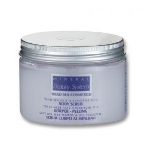 Körperpeeling mit Lavendelölen, 300 ml
