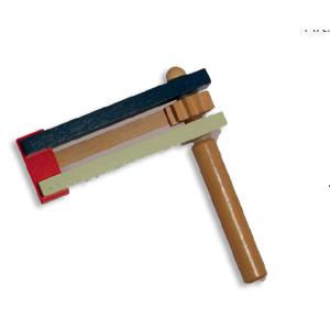 Purimrätsche aus Holz