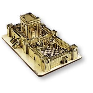 Modellbaukasten - Bau des Zweiten Tempels (zusammengeklebt)