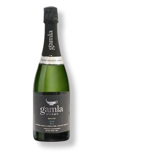 Gamla White Brut - Sekt aus der Golan Heights Winery