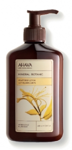 AHAVA - Body-Lotion Geißblatt & Lavendel, 400 ml