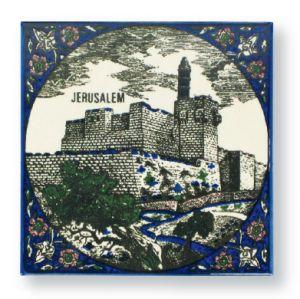 Keramik-Kachel