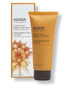 AHAVA - Mineral-Handcreme Mandarine & Zedernholz, 100 ml