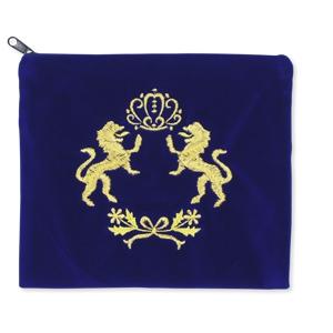Tasche für Tefillin, mit Löwen