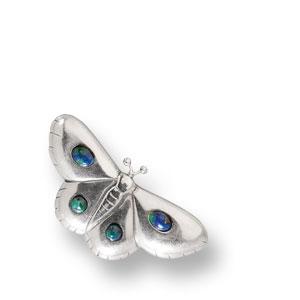 Nadelbrosche in  Schmetterlingsform