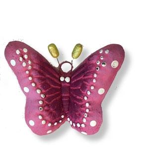 Ton-Schmetterling, bunt, 3-er-Set