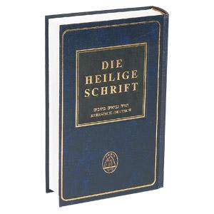 Die Heilige Schrift - hebräisch-deutsche-Ausgabe
