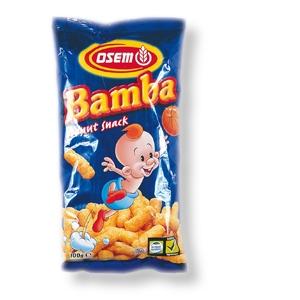 Bamba-Erdnussflips - Packung mit 20 g x 8 (160 g)
