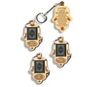 Schlüsselanhängern aus Holz