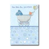 Grußkarte zur Geburt eines Jungen