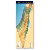 Geografische Karte von Israel