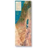 Israel als Satellitenfoto