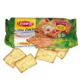 Sesam-Cracker aus Weizenmehl mit Sesamkörnern, 250 g