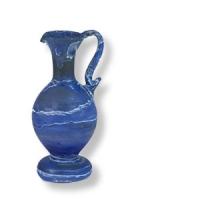 Krüglein aus Hebron Glas, ca. 10 cm