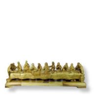 Abendmahlgruppe - Olivenholzschnitzerei aus Bethlehem