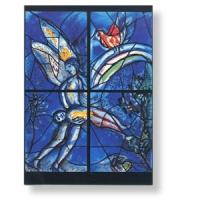 Grußkarte mit Chagall-Motiv -