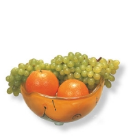 Obstkorb aus Naharia-Glas