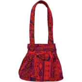 Handtasche aus Gobelinstoff