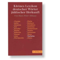 Kleines Lexikon deutscher Wörter jiddischer Herkunft