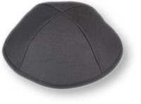 Kippa, schwarz, aus Baumwolle