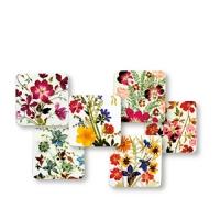 Wildblumen Untersetzer- 6er Set