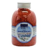 Badesalz Rose, 500-g-Flasche