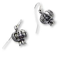 Ohrhängerpaar aus Silber