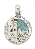 Anhänger mit Jerusalem-Relief