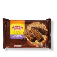 Schoko-Kuchen mit Schoko-Stückchen, koscher für Pessach