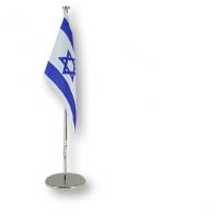 Große Tischfahne Israel