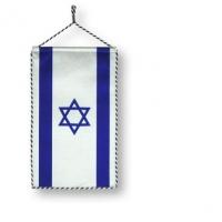 Wimpel mit der israelischen Nationalflagge