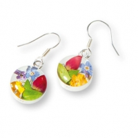 Ohrhänger mit Sommerblüten