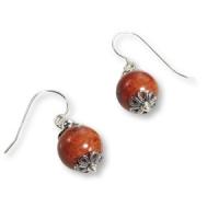 Ohrhänger mit kleineren Perlen