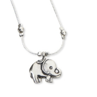 Collier mit Elefant