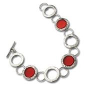 Kräftiges Armband aus Sterlingsilber