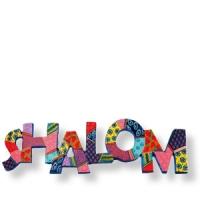 Shalom-Schild in Englisch