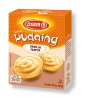 Instant-Vanillepudding oder Creme