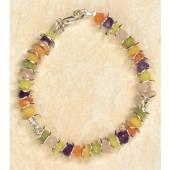 Armband in leuchtenden Farben