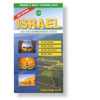 Touring-Karte Israel