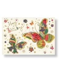 Ein Geburtstagsgruß mit Schmetterlingen