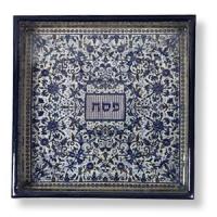 Orangefarbene Mazzen-Schale
