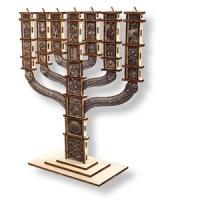 Knesset-Menora als Bausatz