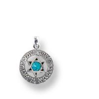 Anhänger in Amulettform, mit Opal