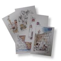 Postkarten-Set mit 5 Postkarten