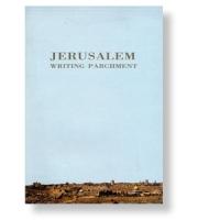 Schreibblock mit Jerusalem-Motiv